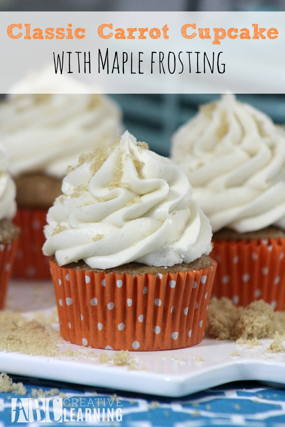 Classic Carrot Cupcake with Maple Frosting Recipe