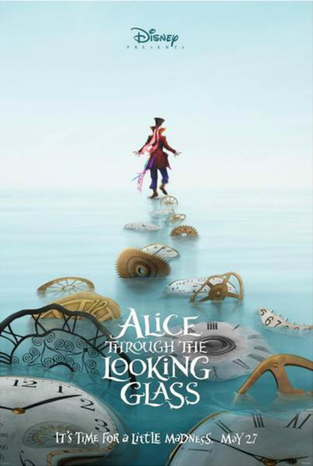 Alice Through the Looking Glass Trailer Teaser #DisneyAlice Hatter