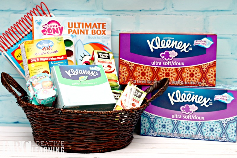 Cold and Flu Kids Care Package Kleenex