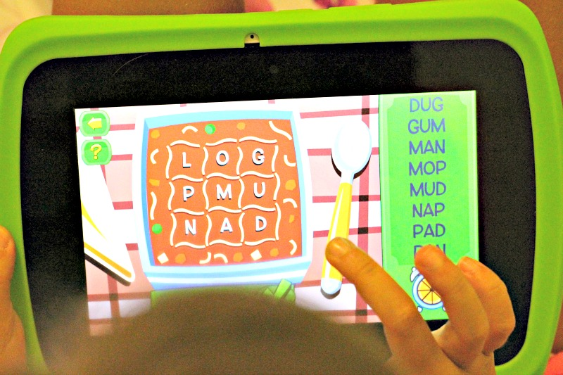 Creativity and Imagination with the LeapFrog Epic Tablet Alphabet Soup