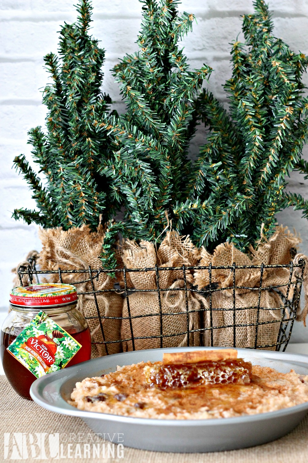 Puerto Rican Style Arroz Con Dulce Holiday Gifting pan