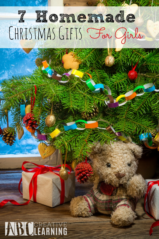 7 Homemade Christmas Gifts For Girls