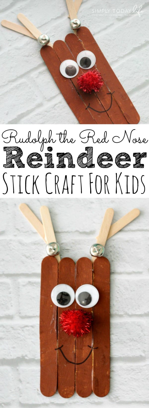 Rudolph The Red Nose Reindeer Craft