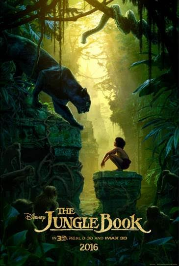 2016 Disney Movies and Trailers Jungle Book