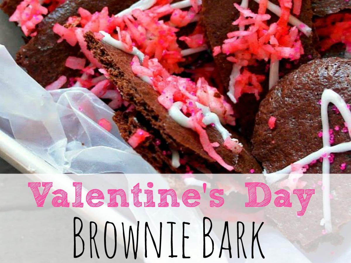 Valentine S Day Brownie Bark