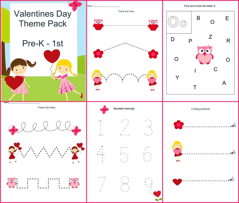 Valentine's Day Theme Pack Samples1