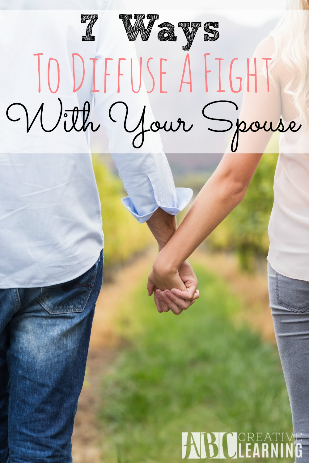 7 Ways To Diffuse A Fight With Your Spouse
