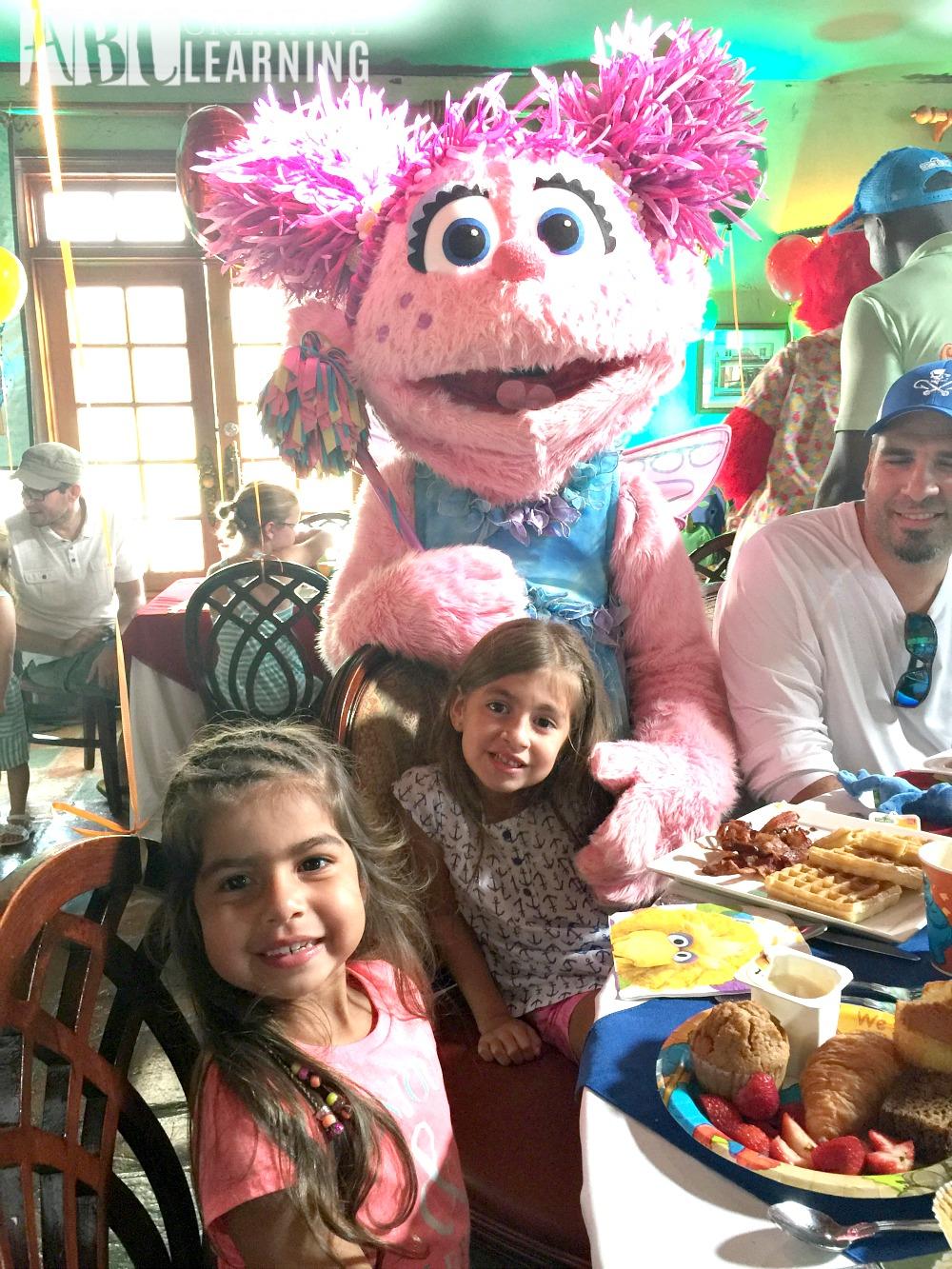 Valentine's Day Treat with Sesame Street Abby