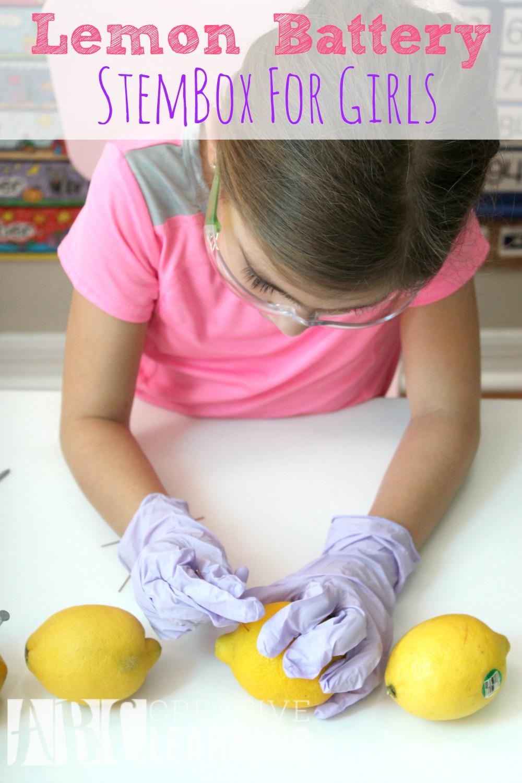 Lemon Battery StemBox For Girls