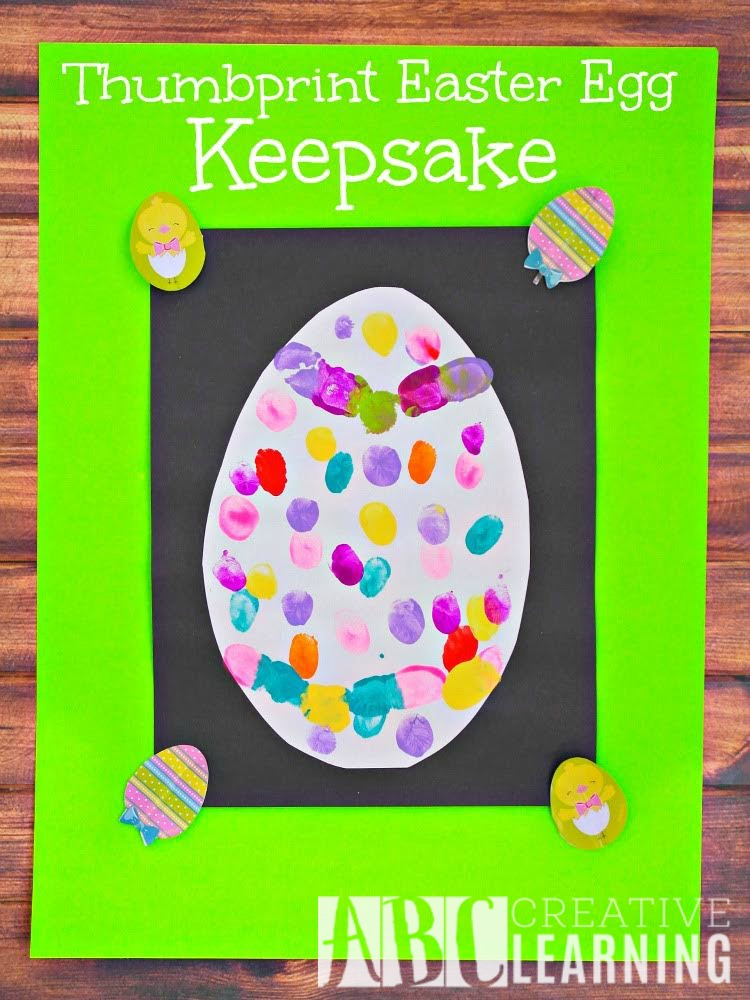 Thumbprint Easter Egg Keepsake