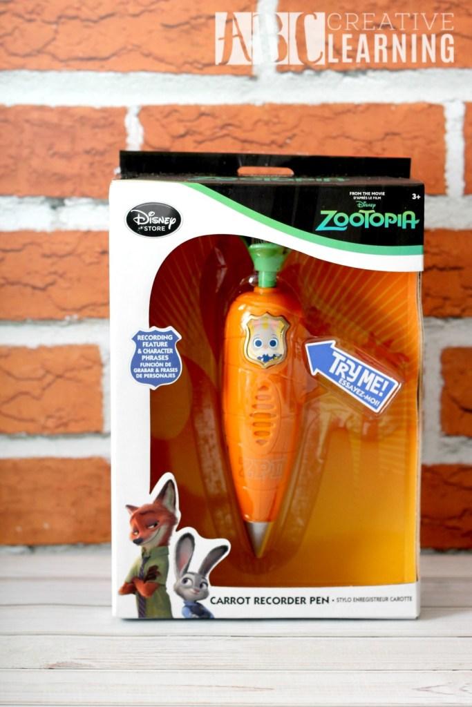 Wild About New Disney's Zootopia Product Line Pen