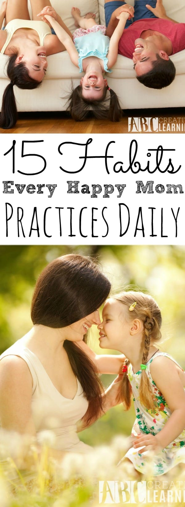 15 Habits Every Happy Mom Practices Daily - simplytodaylife.com