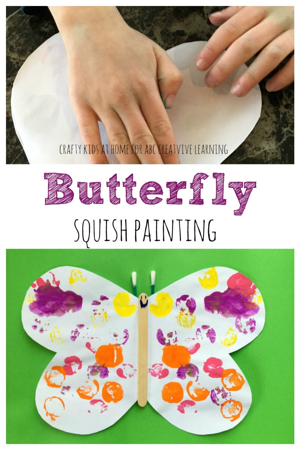 Butterfly Painting Craft