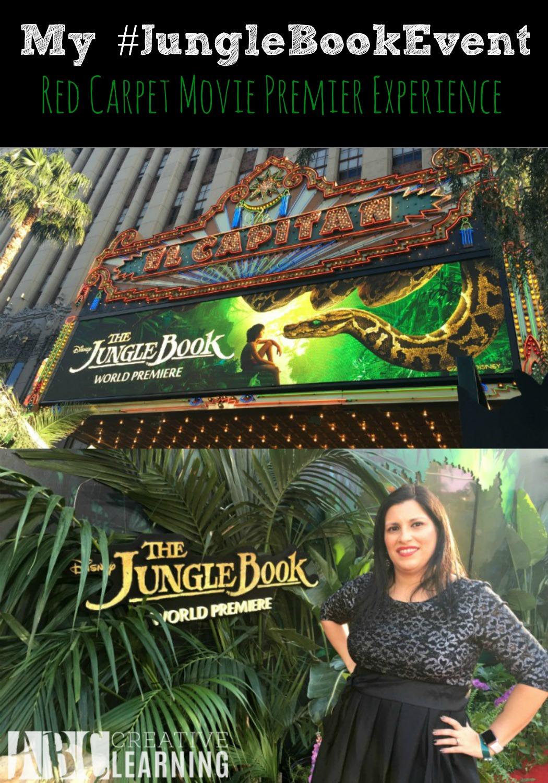 My #JungleBookEvent Red Carpet Movie Premier Experience