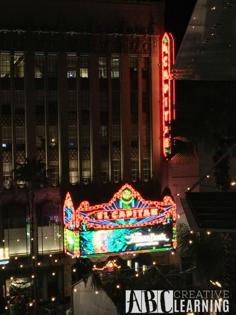 My #JungleBookEvent Red Carpet Movie Premier Experience El Capitan Theatre