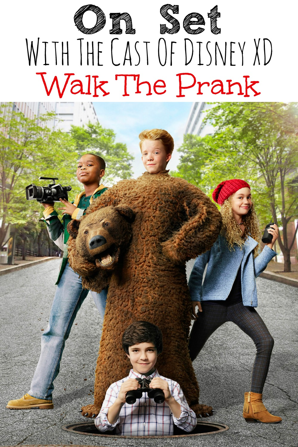 On Set With the Cast of Disney XD Walk The Prank #JungleBookEvent