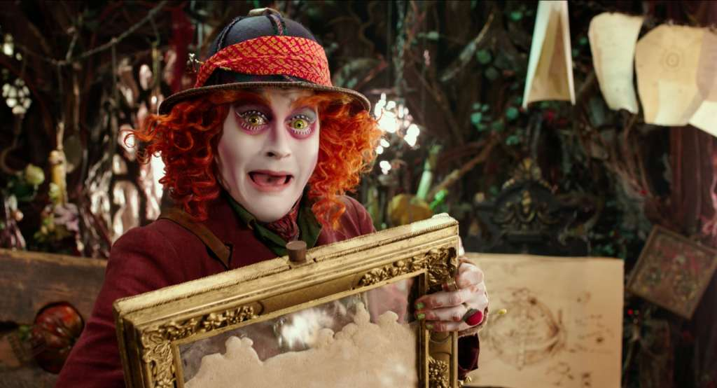 Alice Through The Looking Glass Coloring Sheets #ThroughTheLookingGlass