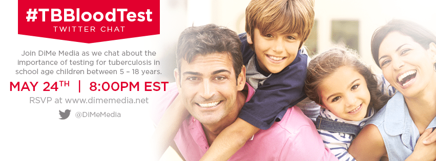#TBBlood Test Twitter Party Invitation