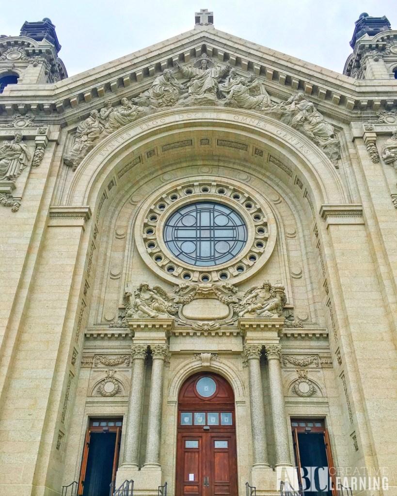 Minneapolis Saint Paul Bus Tour Cathedral