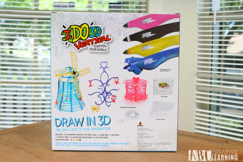 Art Creativity with the IDO3D Back