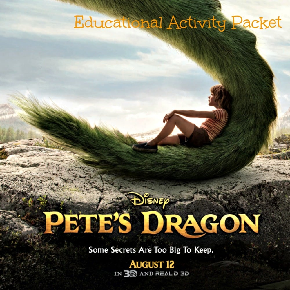 Pete's Dragon Educational Packet SQ