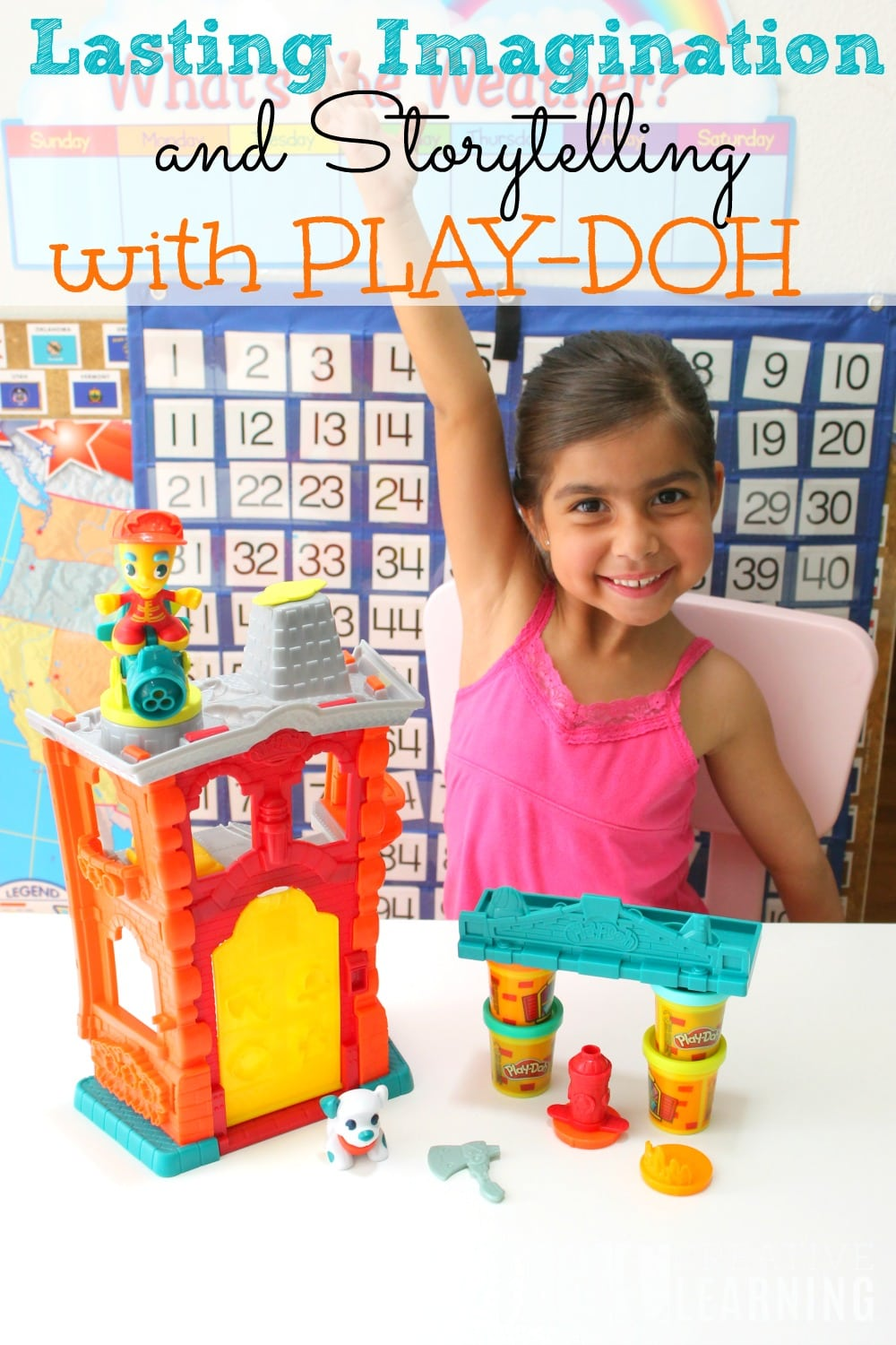Lasting Imagination and Storytelling with Play Doh