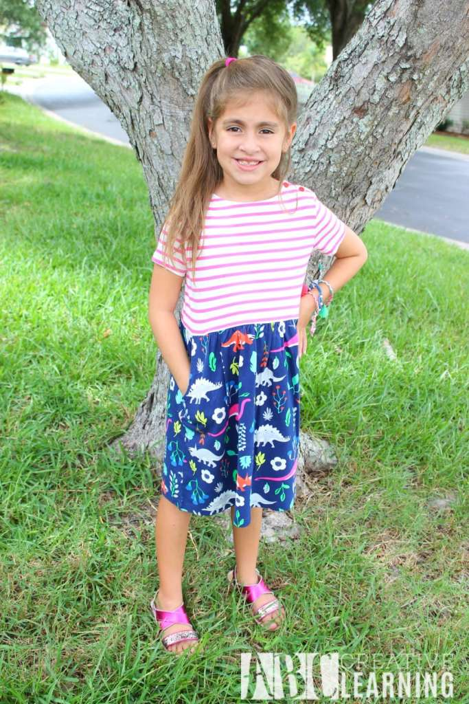 Expressing Personality Through Fashion For Back To School Dino