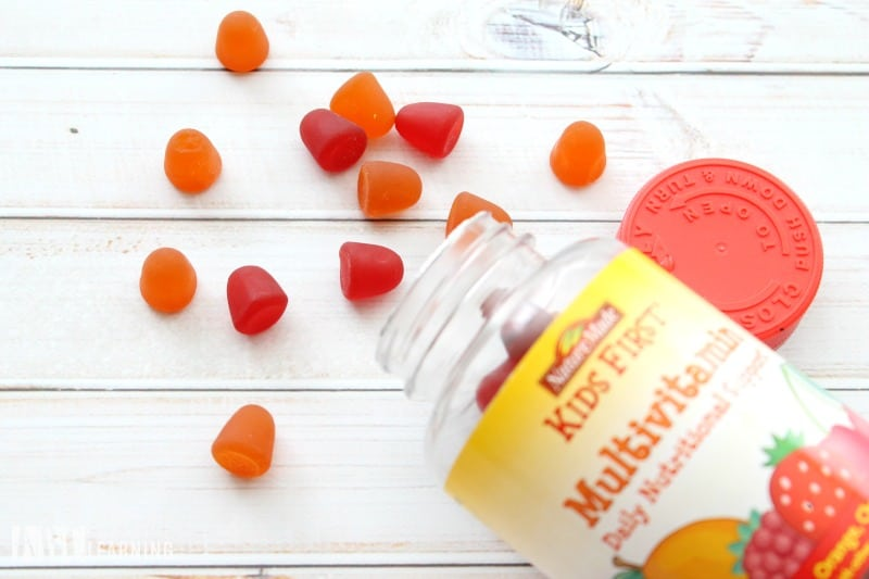 Back To School Morning Healthy Habits Vitamins