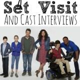 Speechless Set Visit and Cast Interviews
