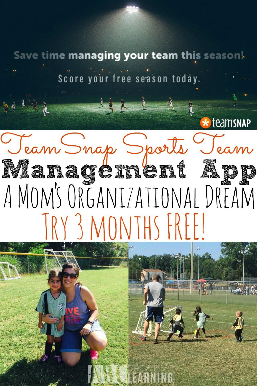 TeamSnap Sports Team Management App | A Mom's Organizational Dream And 3 Month Trial - simplytodaylife.com