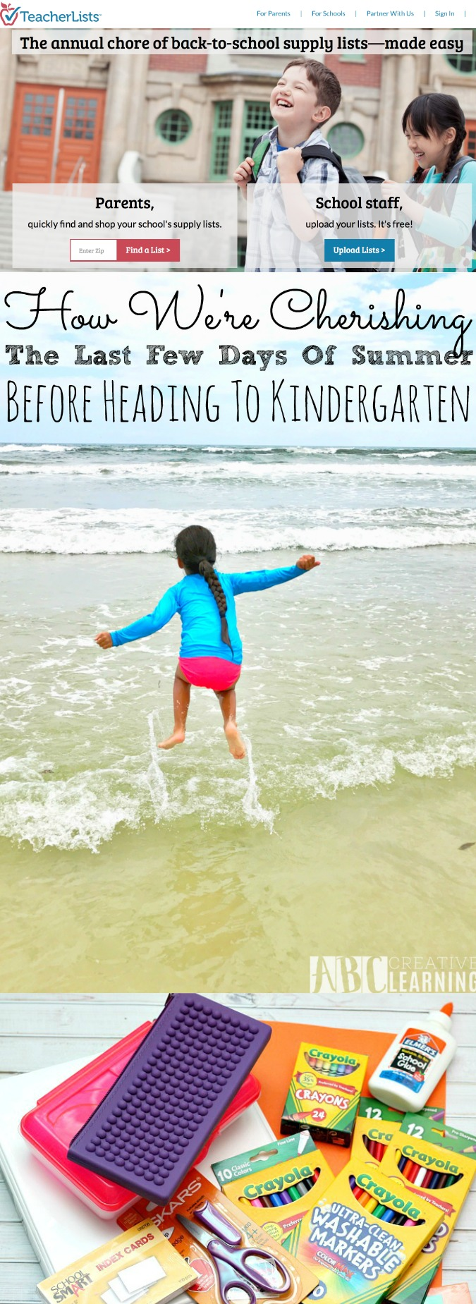 How We're Cherishing The Last Few Days Of Summer Before Heading To Kindergarten - simplytodaylife.com