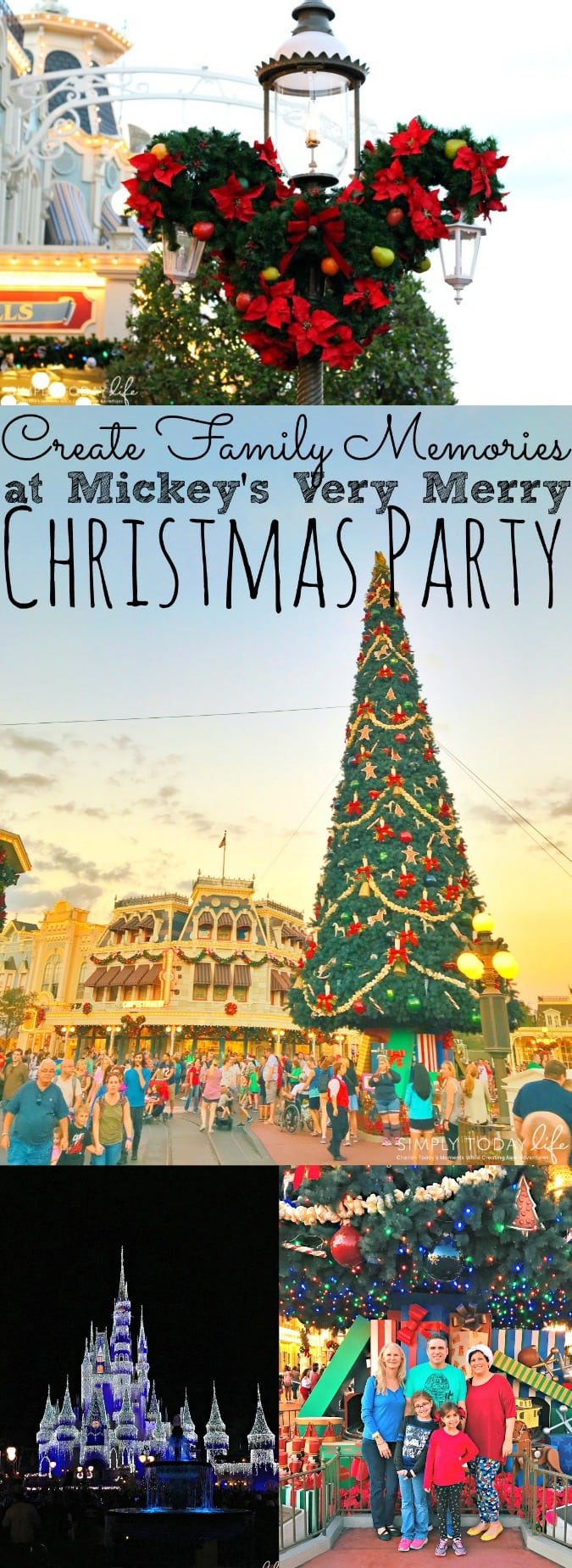 Create Family Memories at Mickey's Very Merry Christmas Party