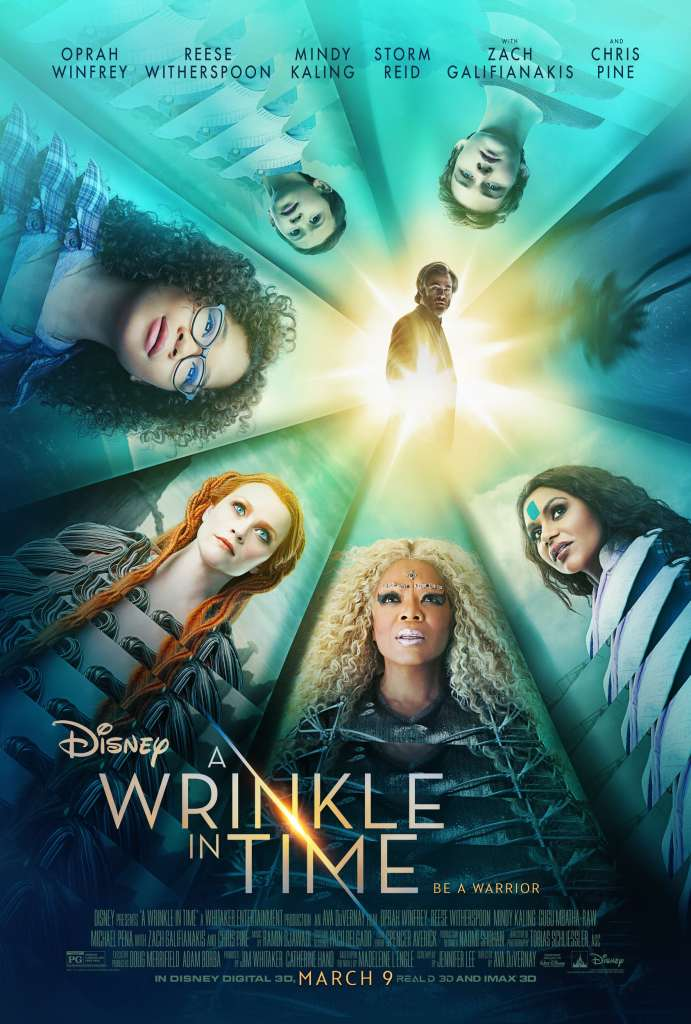A Wrinkle In Time Poster - Movie Press Junket - simplytodaylife.com