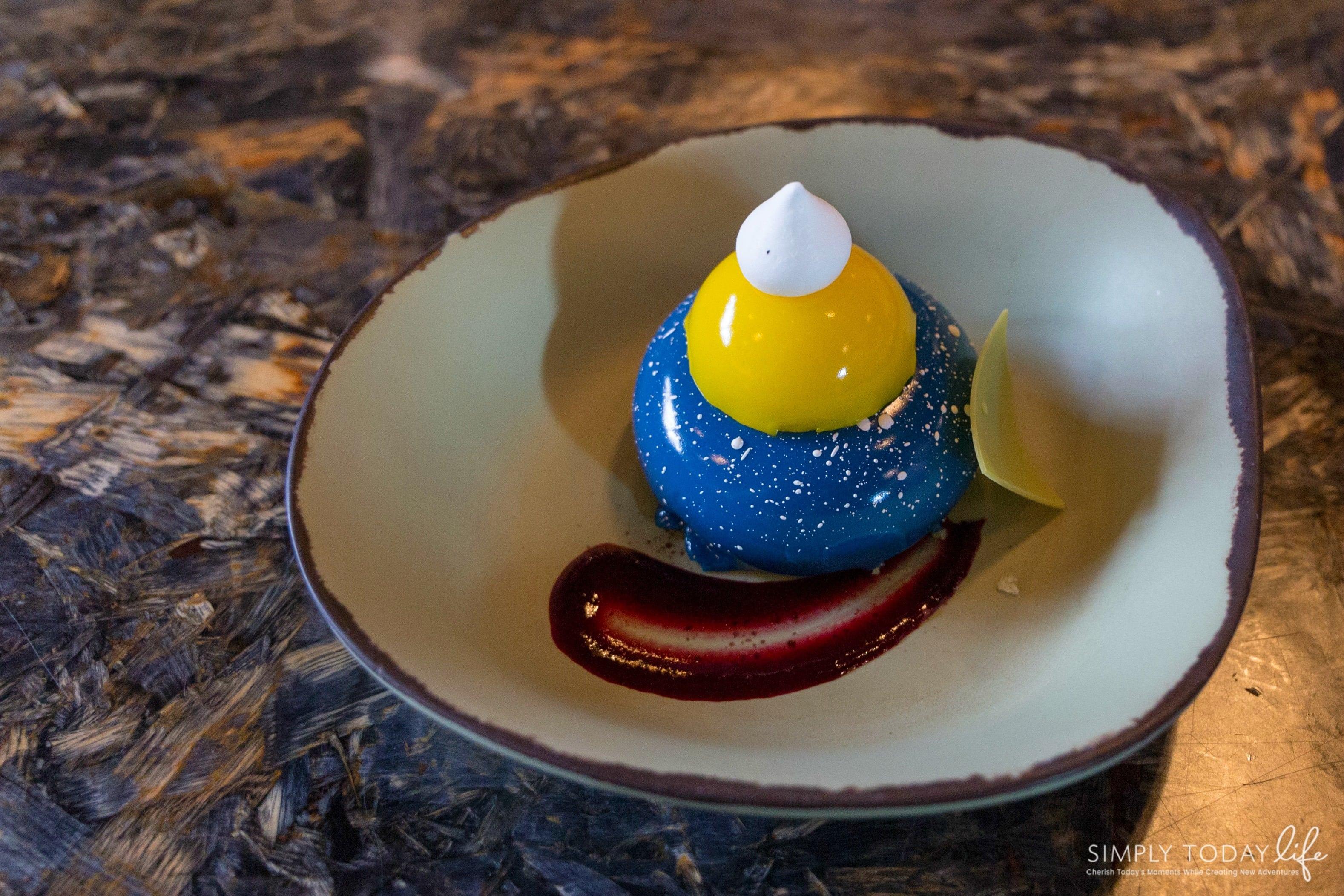 Satu'li Canteen Blueberry Cream Cheese Mousse Dessert - simplytodalife.com