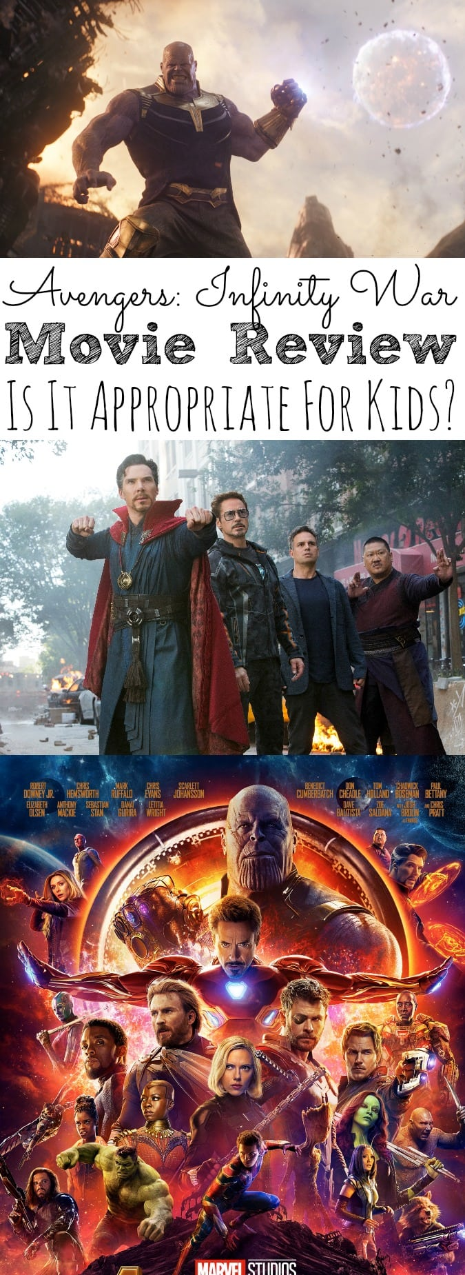 Avengers_ Infinity War Movie Review | Is It Appropriate For Kids