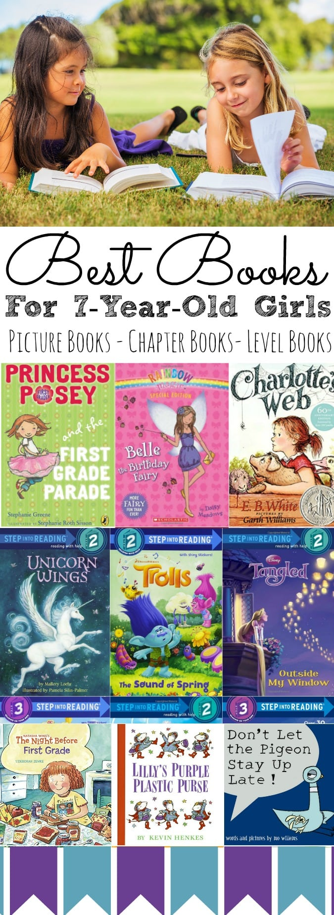 Best Books For 7 Year Old Girls | All Year Long - simplytodaylife.com