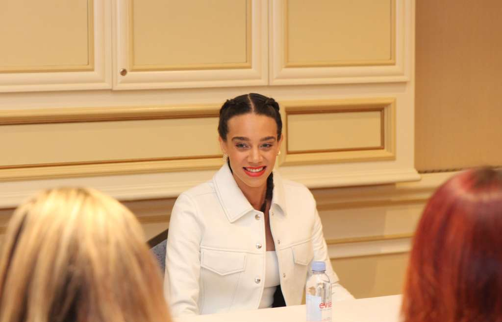Hannah John-Kamen Ant-Man and the Wasp Interview - simplytodaylife.com