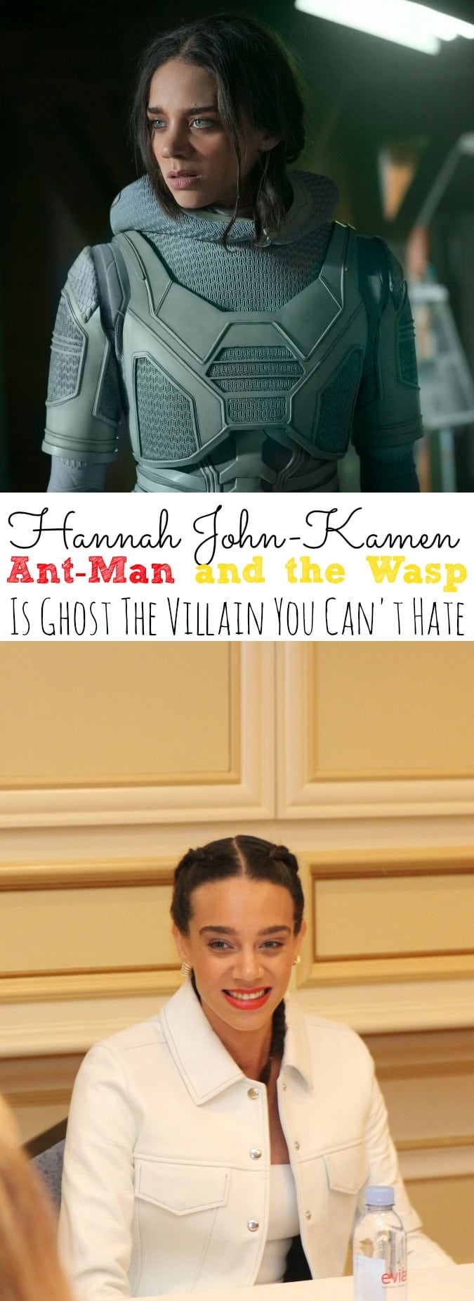 Hannah John-Kamen Interview Ant-Man and the Wasp | The Villain You Can't Hate - simplytodaylife.com