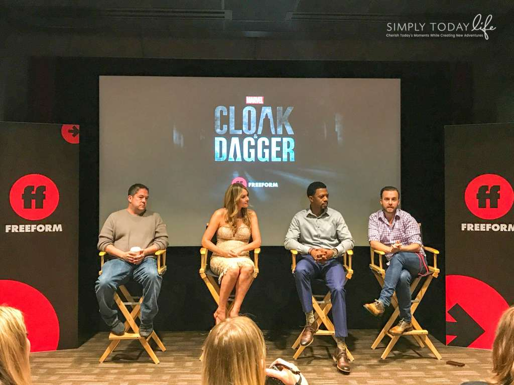Interviews with the Cast of Marvels Cloak and Dagger- simplytodaylife.com
