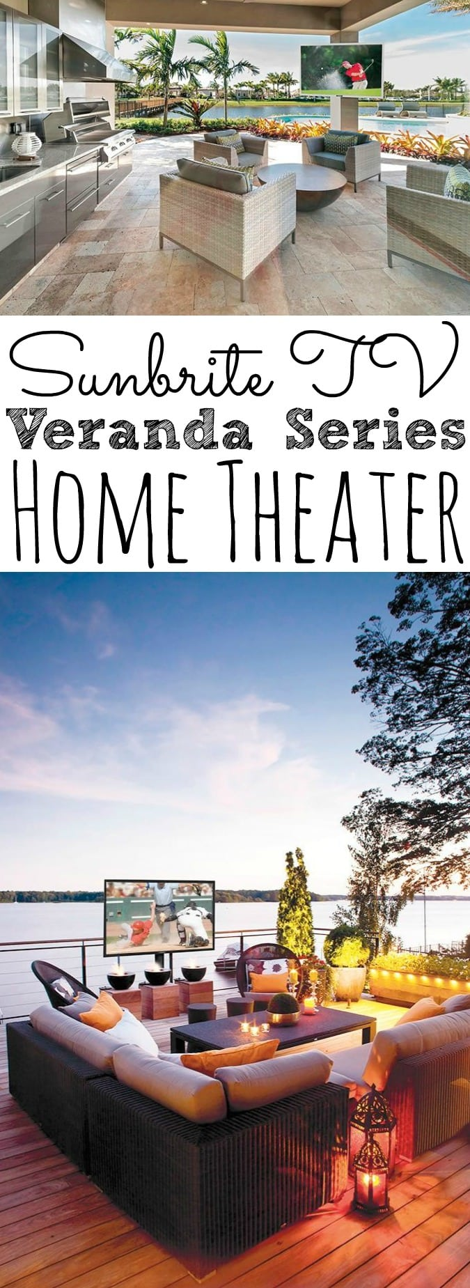 Sunbrite TV Veranda Series Home Theater - simplytodaylife.com