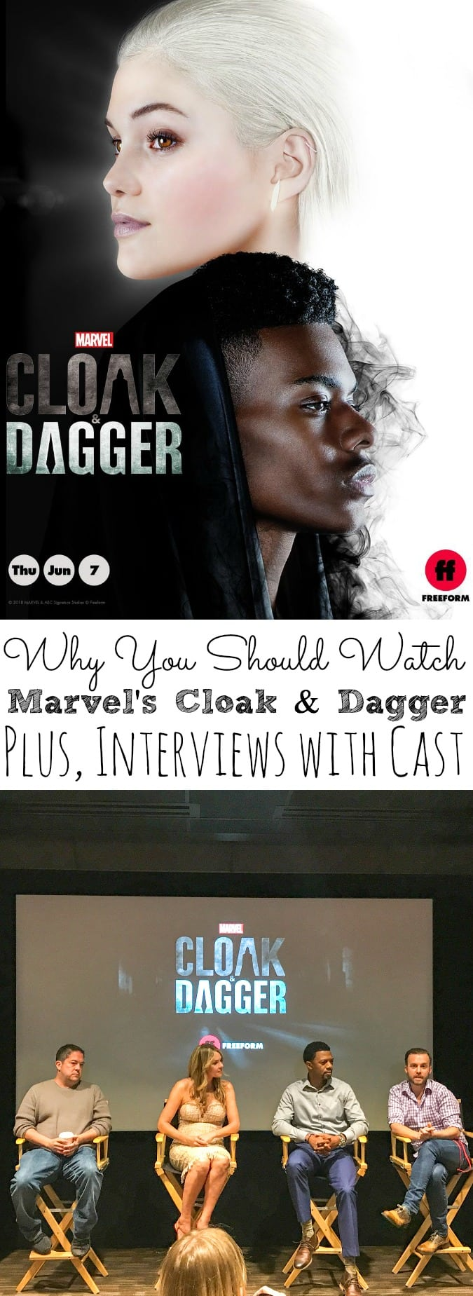 Why You Should Watch Marvel's Cloak and Dagger | Plus Cast Interviews - simplytodaylife.com