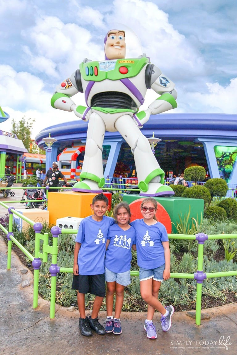 Buzz light Year at Disney's Toy Story Land