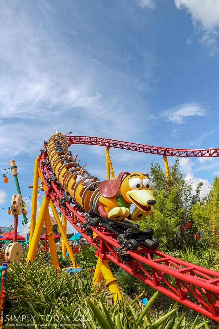 Slinky Dog Dash Ride at Toy Story Land