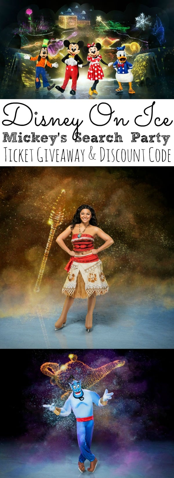 Disney On Ice Mickey's Search Party Ticket Giveaway + Discount Code - simplytodaylife.com
