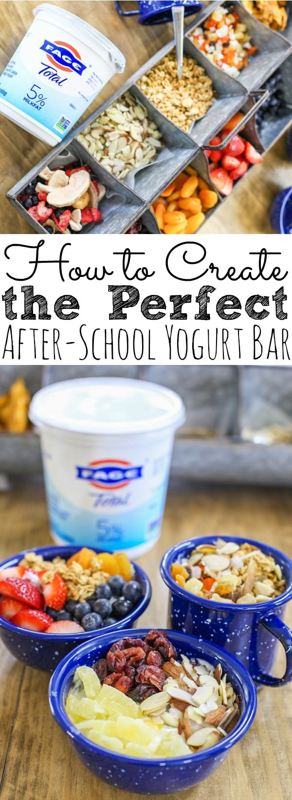After-School Yogurt Bar