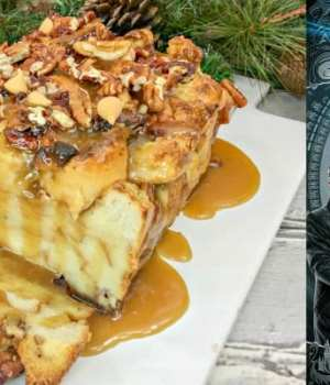 Butterbeer Bread Pudding Recipe