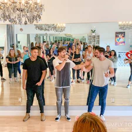 Interviews with Dancing with the Stars and Dancing with the Stars Junior Pros