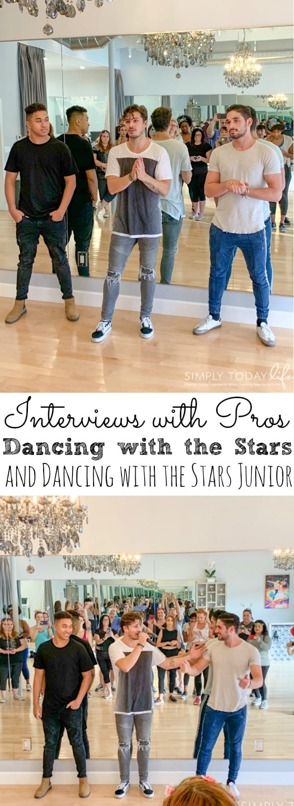 Interview with Dancing With The Stars Pros