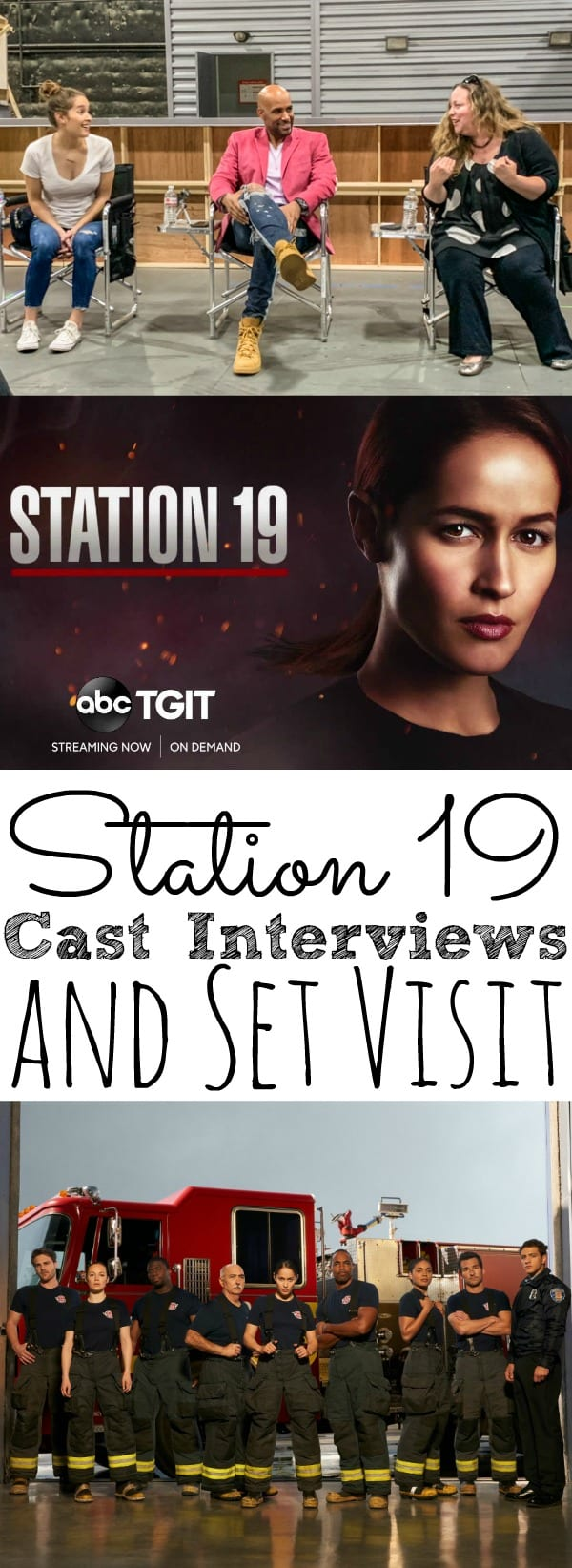 Television Set Visit of Station 19