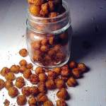 Crispy curried chickpea
